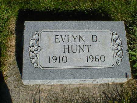 HUNT, EVLYN D. - Cerro Gordo County, Iowa | EVLYN D. HUNT