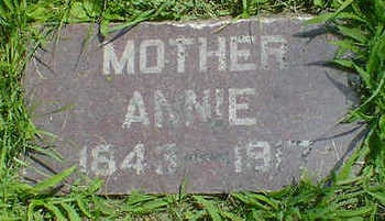 HUNTLEY, ANNIE - Cerro Gordo County, Iowa | ANNIE HUNTLEY