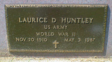HUNTLEY, LAURICE D. - Cerro Gordo County, Iowa | LAURICE D. HUNTLEY
