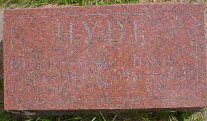 HYDE, DAN EDWARD - Cerro Gordo County, Iowa   DAN EDWARD HYDE