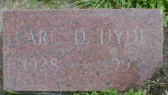 HYDE, EARL D. - Cerro Gordo County, Iowa | EARL D. HYDE