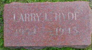 HYDE, LARRY I. - Cerro Gordo County, Iowa | LARRY I. HYDE