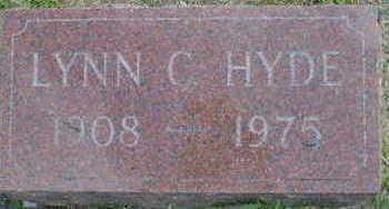 HYDE, LYNN C. - Cerro Gordo County, Iowa | LYNN C. HYDE