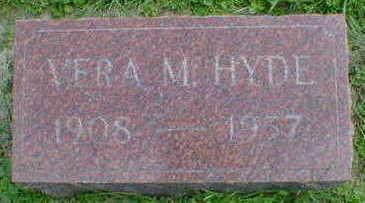 HYDE, VERA M. - Cerro Gordo County, Iowa | VERA M. HYDE