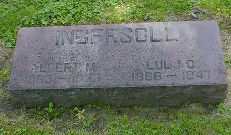 INGERSOLL, ALBERT M. - Cerro Gordo County, Iowa | ALBERT M. INGERSOLL