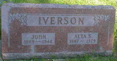 IVERSON, JOHN - Cerro Gordo County, Iowa   JOHN IVERSON