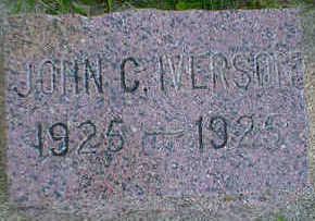 IVERSON, JOHN C. - Cerro Gordo County, Iowa | JOHN C. IVERSON