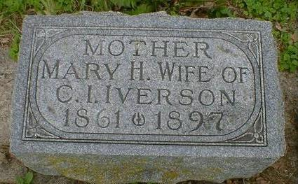 IVERSON, MARY H. - Cerro Gordo County, Iowa | MARY H. IVERSON