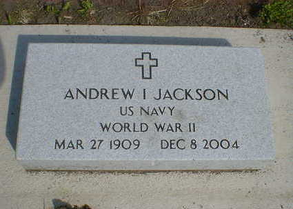 JACKSON, ANDREW I. - Cerro Gordo County, Iowa | ANDREW I. JACKSON