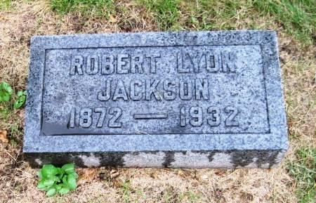 JACKSON, ROBERT LYON - Cerro Gordo County, Iowa   ROBERT LYON JACKSON