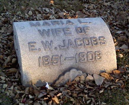JACOBS, MARIA - Cerro Gordo County, Iowa | MARIA JACOBS