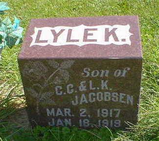 JACOBSEN, LYLE K. - Cerro Gordo County, Iowa | LYLE K. JACOBSEN