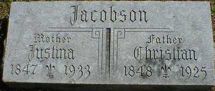 JACOBSON, CHRISTIAN - Cerro Gordo County, Iowa | CHRISTIAN JACOBSON