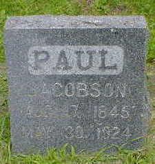 JACOBSON, PAUL - Cerro Gordo County, Iowa | PAUL JACOBSON