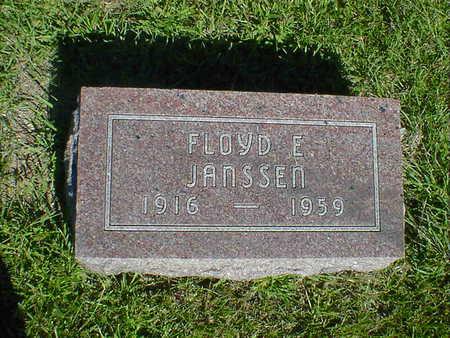 JANSSEN, FLOYD E. - Cerro Gordo County, Iowa | FLOYD E. JANSSEN