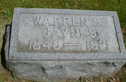 JAYNES, WARREN S. - Cerro Gordo County, Iowa | WARREN S. JAYNES