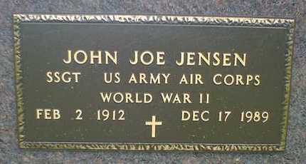 JENSEN, JOHN JOE - Cerro Gordo County, Iowa | JOHN JOE JENSEN