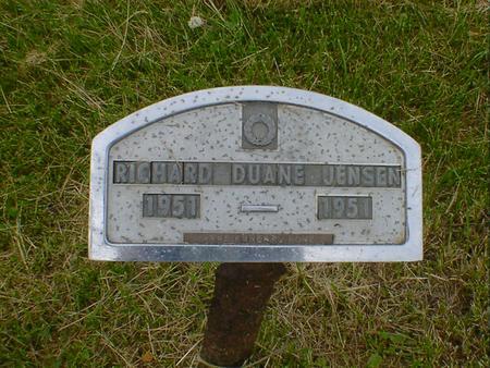 JENSEN, RICHARD DUANE - Cerro Gordo County, Iowa | RICHARD DUANE JENSEN
