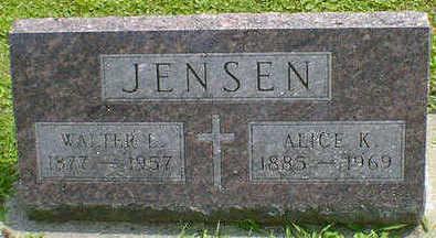 JENSEN, ALICE K. - Cerro Gordo County, Iowa | ALICE K. JENSEN