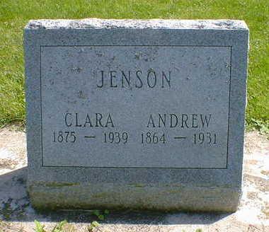JENSON, ANDREW - Cerro Gordo County, Iowa   ANDREW JENSON