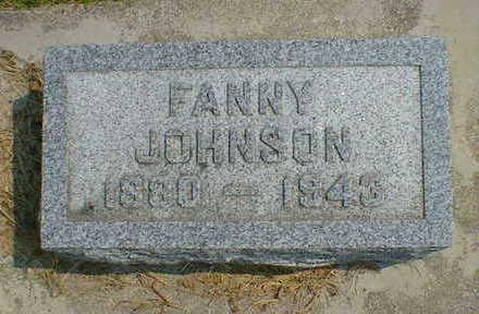 JOHNSON, FANNY - Cerro Gordo County, Iowa   FANNY JOHNSON