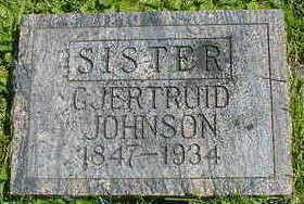 ENGEBRETSON JOHNSON, GJERTRUID - Cerro Gordo County, Iowa | GJERTRUID ENGEBRETSON JOHNSON