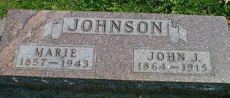 JOHNSON, MARIE - Cerro Gordo County, Iowa | MARIE JOHNSON