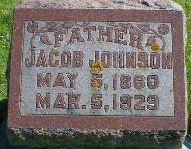 JOHNSON, JACOB - Cerro Gordo County, Iowa   JACOB JOHNSON
