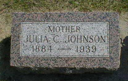 JOHNSON, JULIA C. - Cerro Gordo County, Iowa | JULIA C. JOHNSON