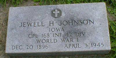 JOHNSON, JEWELL H. - Cerro Gordo County, Iowa   JEWELL H. JOHNSON