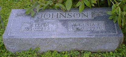 JOHNSON, AUGUSTA F. - Cerro Gordo County, Iowa | AUGUSTA F. JOHNSON