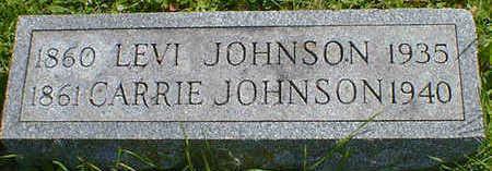 JOHNSON, LEVI - Cerro Gordo County, Iowa | LEVI JOHNSON