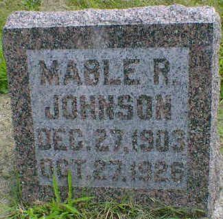 JOHNSON, MABLE R. - Cerro Gordo County, Iowa | MABLE R. JOHNSON