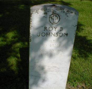 JOHNSON, ROY B. - Cerro Gordo County, Iowa | ROY B. JOHNSON