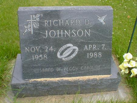 JOHNSON, RICHARD D. - Cerro Gordo County, Iowa | RICHARD D. JOHNSON