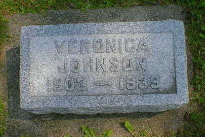 JOHNSON, VERONICA - Cerro Gordo County, Iowa | VERONICA JOHNSON