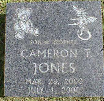 JONES, CAMERON T. - Cerro Gordo County, Iowa   CAMERON T. JONES