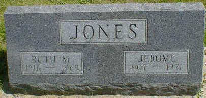 JONES, RUTH M. - Cerro Gordo County, Iowa | RUTH M. JONES