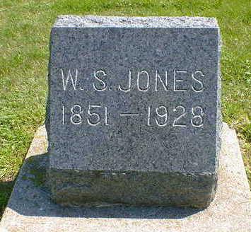 JONES, W. S. - Cerro Gordo County, Iowa | W. S. JONES