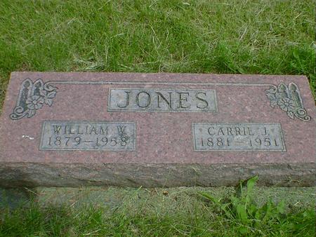 JONES, CARRIE J. - Cerro Gordo County, Iowa | CARRIE J. JONES