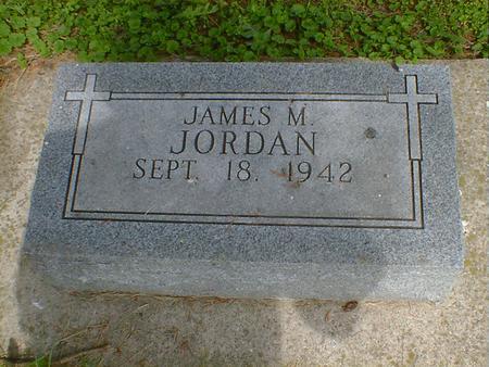 JORDAN, JAMES M. - Cerro Gordo County, Iowa | JAMES M. JORDAN