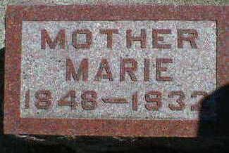 JORGENSEN, MARIE - Cerro Gordo County, Iowa   MARIE JORGENSEN