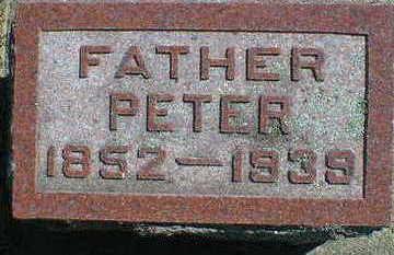 JORGENSEN, PETER - Cerro Gordo County, Iowa | PETER JORGENSEN