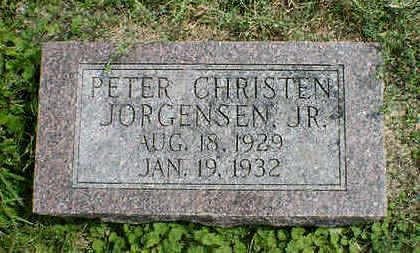 JORGENSEN, PETER CHRISTEN JR. - Cerro Gordo County, Iowa   PETER CHRISTEN JR. JORGENSEN