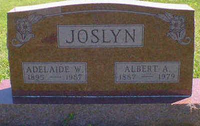 JOSLYN, ADELAIDE W. - Cerro Gordo County, Iowa | ADELAIDE W. JOSLYN