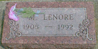 JOYNT, M. LENORE - Cerro Gordo County, Iowa | M. LENORE JOYNT
