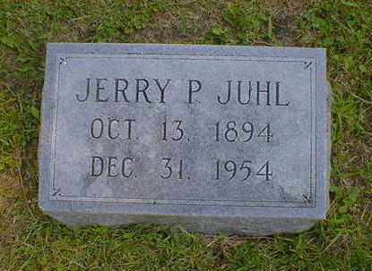 JUHL, JERRY P. - Cerro Gordo County, Iowa | JERRY P. JUHL