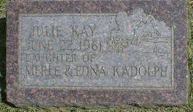 KADOLPH, JULIE KAY - Cerro Gordo County, Iowa | JULIE KAY KADOLPH