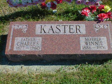 KASTER, CHARLES - Cerro Gordo County, Iowa | CHARLES KASTER