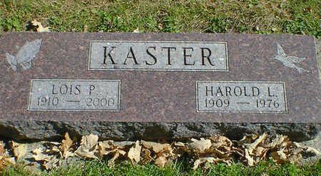 KASTER, LOIS P. - Cerro Gordo County, Iowa   LOIS P. KASTER